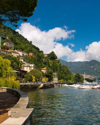 Bellagio Lake Como Promenade - Obrázkek zdarma pro iPhone 5