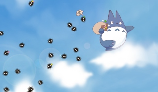 My Neighbor Totoro Background for Android, iPhone and iPad