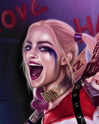 Suicide Squad, Harley Quinn, Margot Robbie - Obrázkek zdarma pro iPhone 6 Plus