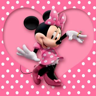 Minnie Mouse Polka Dot - Obrázkek zdarma pro 128x128