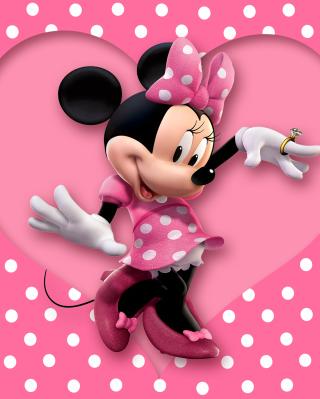 Minnie Mouse Polka Dot - Obrázkek zdarma pro Nokia Asha 309