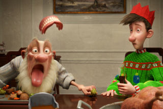 Arthur Christmas Background for Android, iPhone and iPad