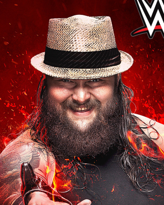 WWE 2K15 Bray Wyatt - Obrázkek zdarma pro 320x480