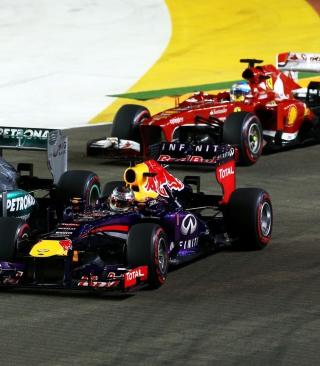 Singapore Grand Prix - Formula 1 - Obrázkek zdarma pro Nokia Asha 300