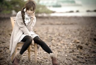 Cute Asian Girl - Fondos de pantalla gratis para Sony Ericsson XPERIA PLAY