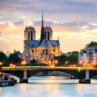 Notre Dame de Paris Catholic Cathedral - Obrázkek zdarma pro iPad 2