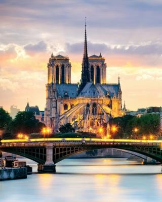 Notre Dame de Paris Catholic Cathedral - Obrázkek zdarma pro Nokia 206 Asha