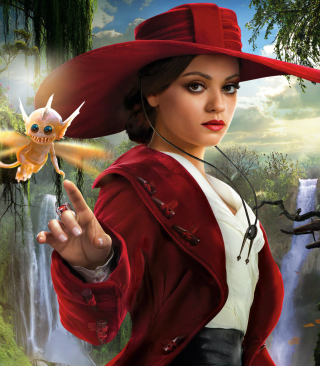 Mila Kunis In Oz The Great And Powerful - Obrázkek zdarma pro 128x160