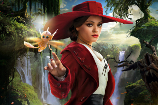 Mila Kunis In Oz The Great And Powerful - Obrázkek zdarma pro 1600x900