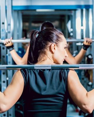 Fitness Gym Workout - Obrázkek zdarma pro Nokia C-Series