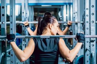 Fitness Gym Workout - Obrázkek zdarma pro Android 320x480