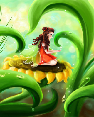 Fairy Girl - Obrázkek zdarma pro Nokia C5-05