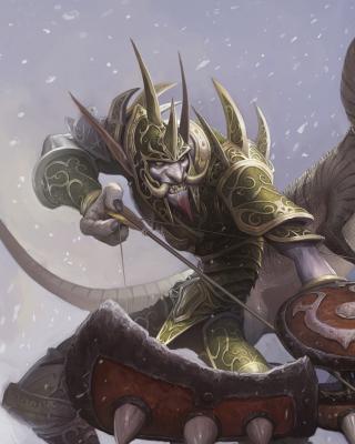 World of Warcraft Troll - Obrázkek zdarma pro Nokia Asha 203