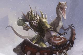 World of Warcraft Troll - Obrázkek zdarma pro Samsung Galaxy Nexus