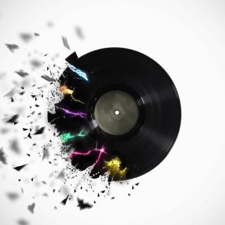 DJ Vinyl - Obrázkek zdarma pro 1024x1024