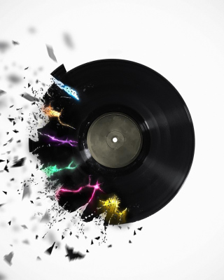 DJ Vinyl - Obrázkek zdarma pro iPhone 6 Plus