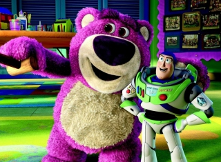 Toy Story - Obrázkek zdarma pro 1366x768