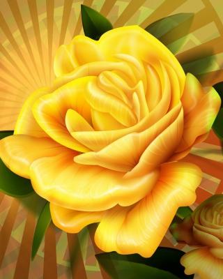 Two yellow flowers - Obrázkek zdarma pro iPhone 5S