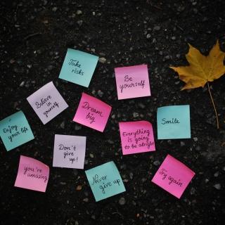 Life Quotes - Obrázkek zdarma pro 1024x1024