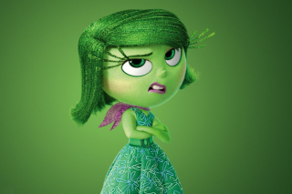 Disgust from Inside Out Cartoon - Obrázkek zdarma pro Samsung T879 Galaxy Note