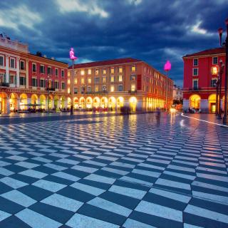 Place Massena, Nice - Obrázkek zdarma pro 208x208