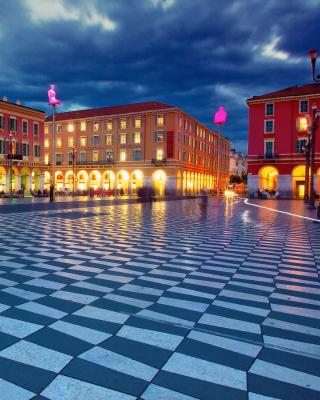 Place Massena, Nice - Obrázkek zdarma pro iPhone 5