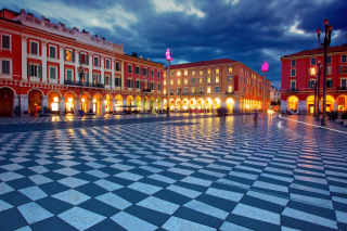 Place Massena, Nice Background for Android, iPhone and iPad