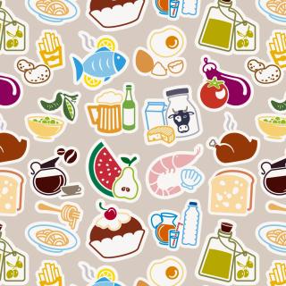 Food Texture - Obrázkek zdarma pro iPad 2