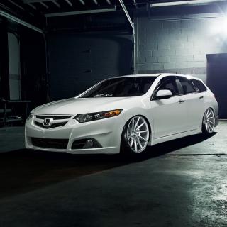 Honda Accord Wagon Tuning - Obrázkek zdarma pro iPad