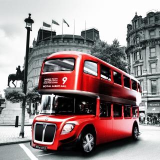 Double Decker English Bus - Obrázkek zdarma pro iPad