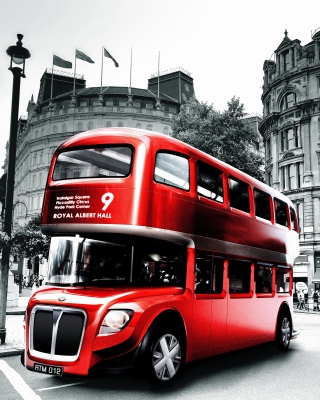 Double Decker English Bus - Obrázkek zdarma pro Nokia Lumia 710