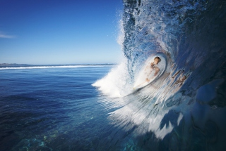 Female Surfer Wallpaper for Android, iPhone and iPad