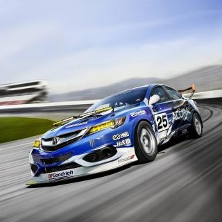 Acura ILX Endurance Racer - Obrázkek zdarma pro iPad