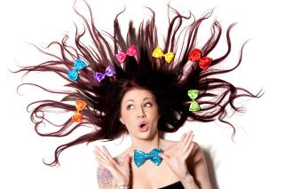Funny Girl - Obrázkek zdarma pro Fullscreen 1152x864