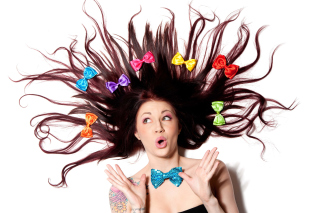 Funny Girl - Obrázkek zdarma pro Sony Xperia Z1