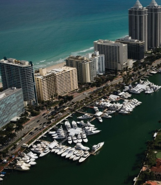 Miami Life - Obrázkek zdarma pro Nokia X7