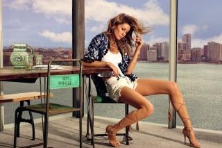 Gisele Bundchen Model - Obrázkek zdarma pro Samsung T879 Galaxy Note