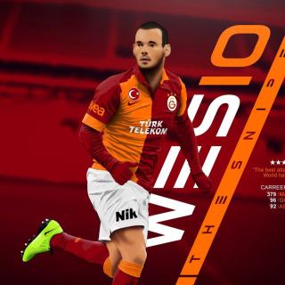 Wesley Sneijder - Obrázkek zdarma pro 2048x2048