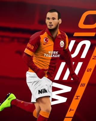 Wesley Sneijder - Obrázkek zdarma pro 240x400