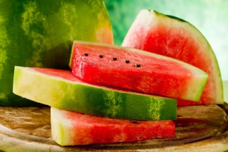 Sweet Red Watermelon Background for Android, iPhone and iPad