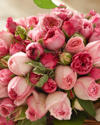 Bouquet of pink roses - Obrázkek zdarma pro Nokia C7