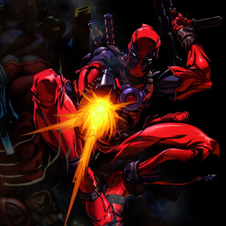 Deadpool - Obrázkek zdarma pro iPad 2