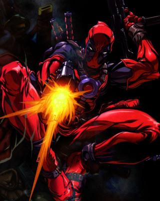 Deadpool - Obrázkek zdarma pro Nokia Asha 310