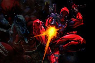 Deadpool - Obrázkek zdarma pro Motorola DROID