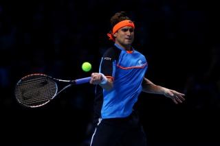 Tennis Player - David Ferrer - Obrázkek zdarma pro 1366x768