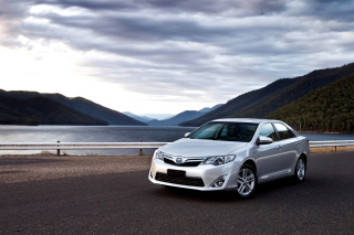 Toyota Camry Hybrid Wallpaper for Android, iPhone and iPad
