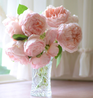 Soft Pink Peonies Bouquet - Obrázkek zdarma pro iPad 2