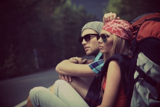 Fashion Couple Background for Android, iPhone and iPad