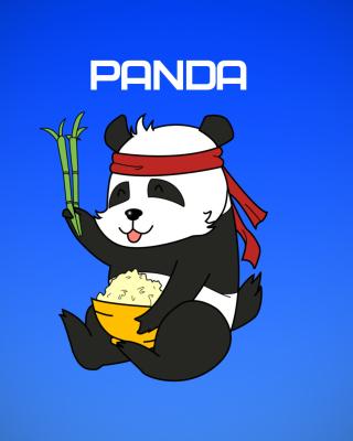 Cool Panda Illustration - Obrázkek zdarma pro 640x1136