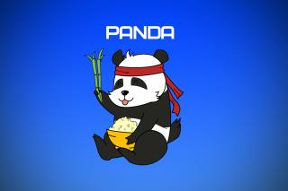 Cool Panda Illustration - Obrázkek zdarma pro LG P500 Optimus One